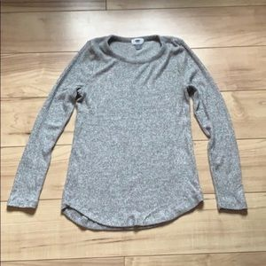 Old navy Gray long sleeve shirt size small